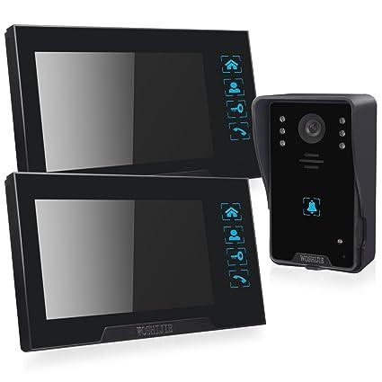 didseth HD 720P exterior Vigilancia (4 canales, 4 Cámaras impermeables exterior HD visión nocturna