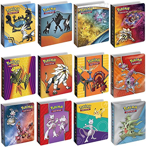 Pokemon TCG: Bundle of 4 Mini Album ()