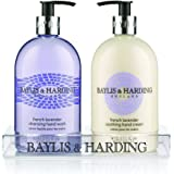 Baylis & Harding French Lavender Hand Wash and Lotion Set