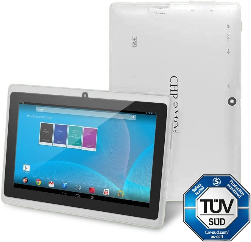 Chromo Inc 7-inch Tablet (White) - (512 MB DDR3 RAM, 4 GB HDD, Android 4.1 JellyBean)