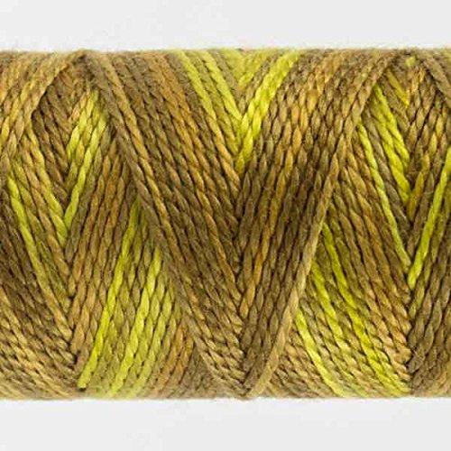 WonderFil Specialty Threads Sue Spargo Eleganza 2-ply #8 Perle Cotton Varigated Golden Rules