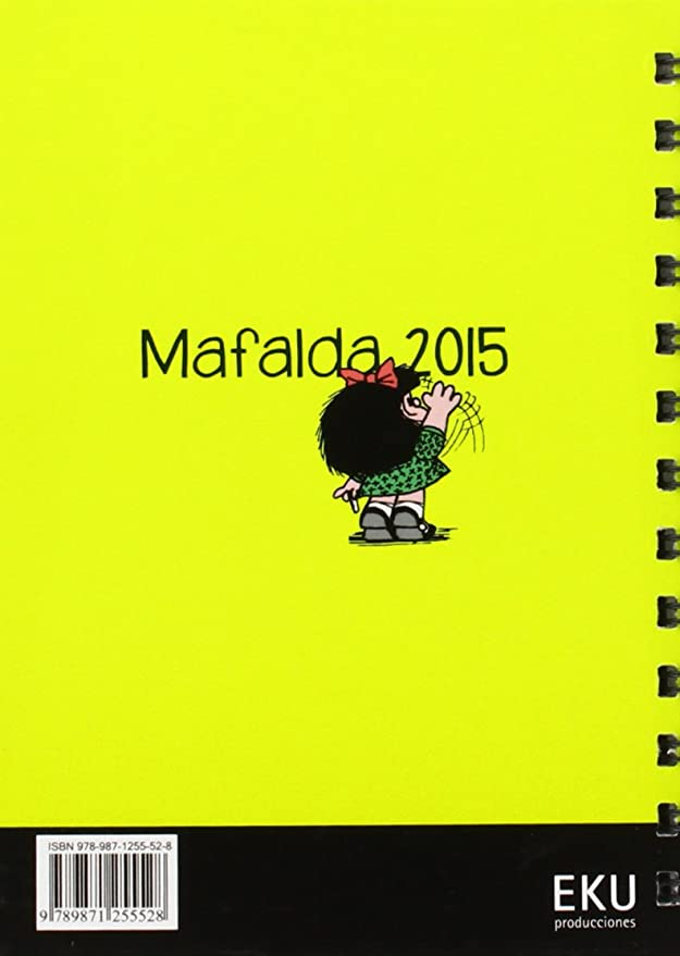 Eku Mafalda 2015 - Agenda: Vv.Aa.: Amazon.es: Oficina y ...