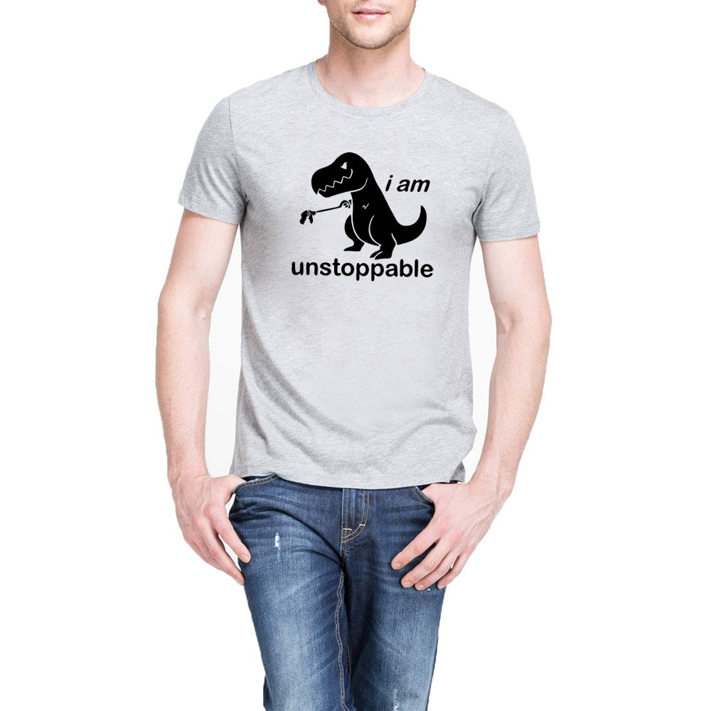 Loo Show S I Am Unstoppable T Rex Funny Casual T Shirts Tee