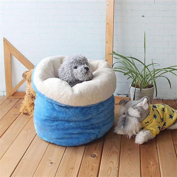 Wuwenw Lindo Saco De Dormir Para Mascotas Cálido, Suave, Perro, Gato, Litera, Cama, Casa De Mascotas, Perrito Encantador, Nido , Almohadilla, Cojín, Perros ...