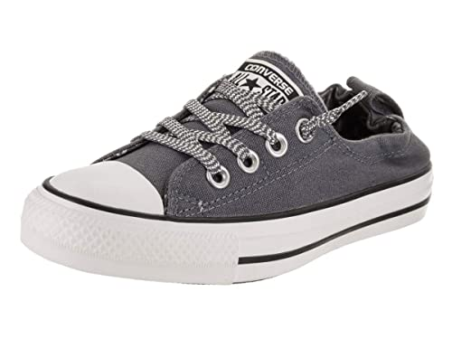 6d7dfbb2265f79 Converse Women s Chuck Taylor All Star Shoreline Slip-on Casual Shoe Light  Carbon White
