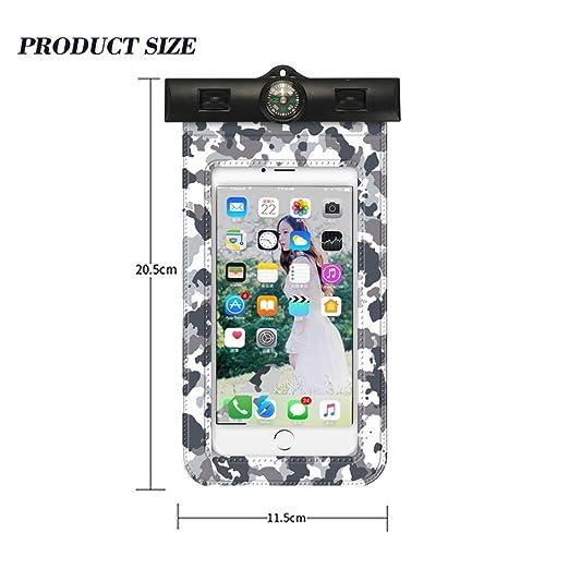 YJYda - Funda para teléfono móvil, diseño de brújula ...