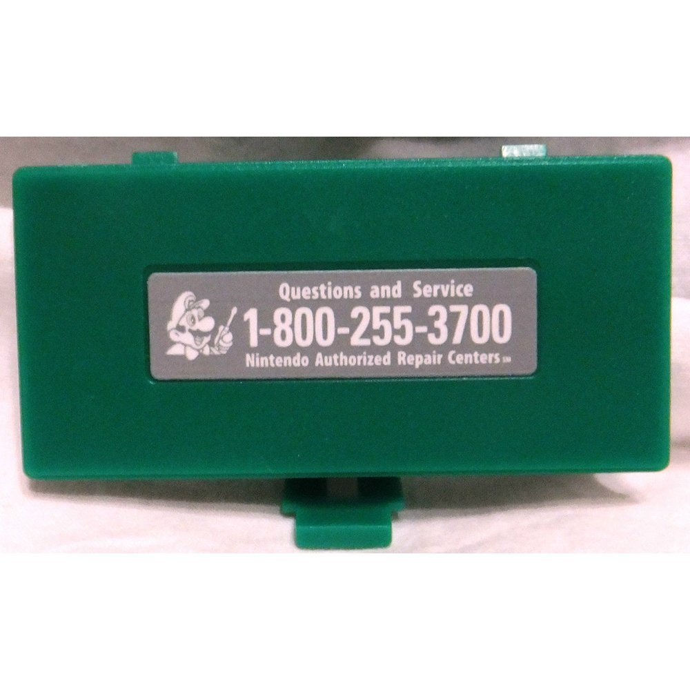 Game Boy Pocket (GBP) Green Battery Compartment Cover (Lid, Door)