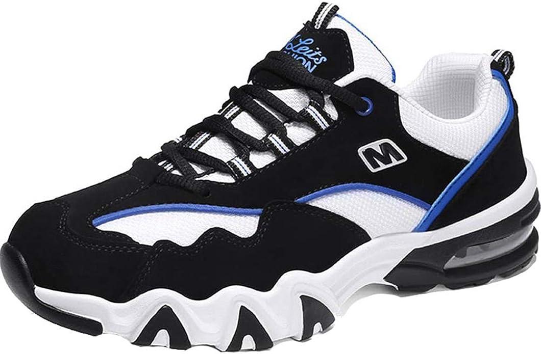 Calzado Casual Deportivo para Hombre Low Top Athletic Fitness Zapatillas de Deporte de amortiguación Zapatillas de Deporte para Caminar al Aire Libre: Amazon.es: Zapatos y complementos