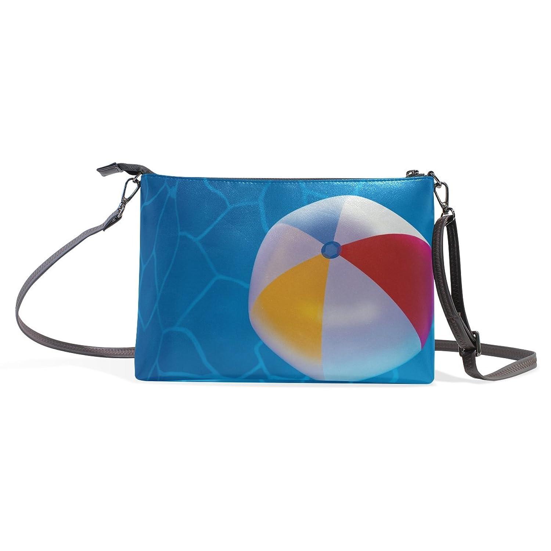 LEEZONE Femal Multipurpose Single Shoulder Bag with Swimming Pool Printing