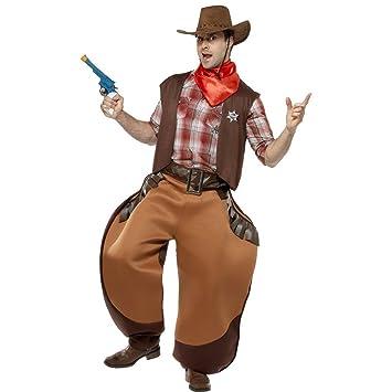 Traje de Sheriff disfraz vaquero oeste cowboy  Amazon.es  Juguetes y ... f5777874717