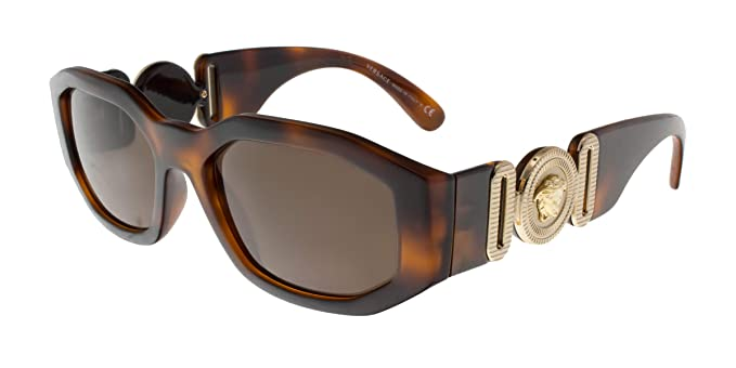 b8747e16c7f0 Image Unavailable. Image not available for. Color  Versace VE4361 Sunglasses  521773-53 ...