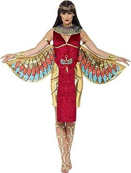 NET TOYS Disfraz Diosa Egipcia - S (ES 36/38) | Traje ISIS Dios ...