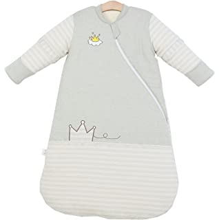 abd3e30e2f24 Baby Toddler Cotton Wearable Blanket Removable Sleeves Pajamas ...