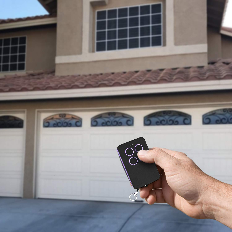 Refoss Garage Door Remote Control Purple Learn Button Compatible ...