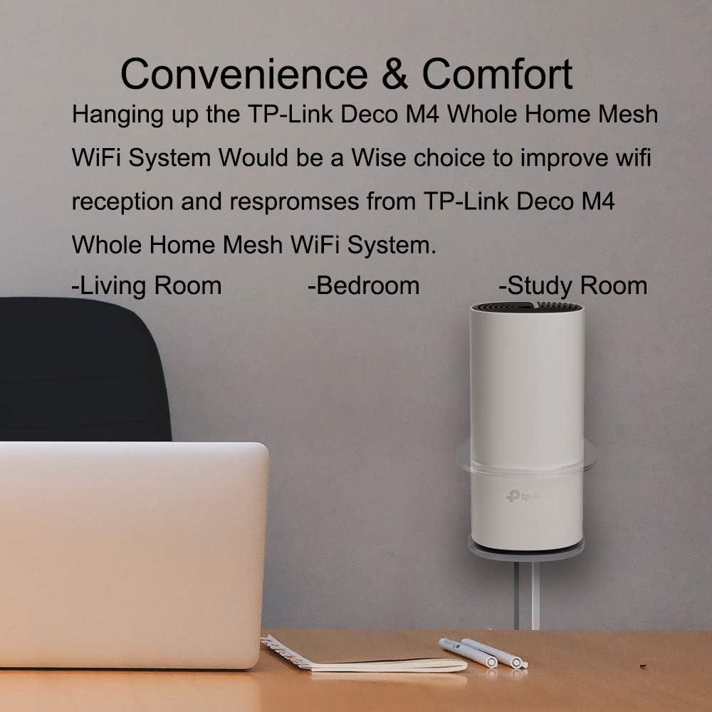 Huafly Wandhalterung Ständer Für Tp Link Deco P9 M4 Mesh Wifi Stabile Halterung