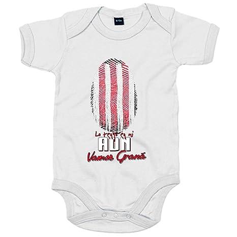Body bebé lo tengo en mi ADN Granada fútbol - Blanco, 6-12 meses