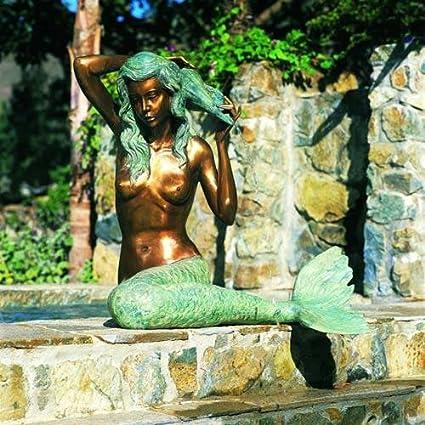 Mermaid Fountain (S) Finish: Bronze