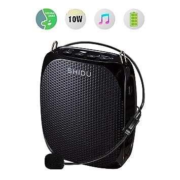 Review Portable Voice Amplifier SHIDU