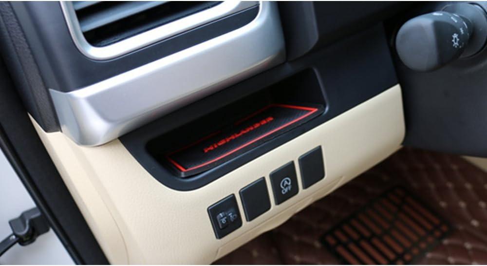 Muchkey Auto Styling Innent/ür Gummimatten Anti Rutsch Matten Blau f/ür 2015 Highlander 16 St/ück pro Satz