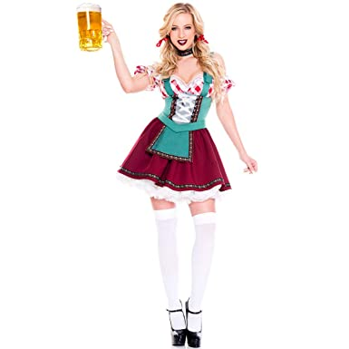 ACHICOO Halloween. Oktoberfest Uniforme del traje del ...