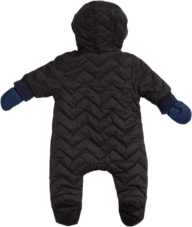 Baby Boys Snowsuit Winter Coat Pramsuit Hooded Fully Fleece Lined