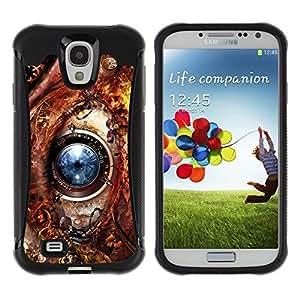 Suave TPU GEL Carcasa Funda Silicona Blando Estuche Caso de protección (para) Samsung Galaxy S4 IV I9500 / CECELL Phone case / / Eye Technology Ai Robot Biotech Future /
