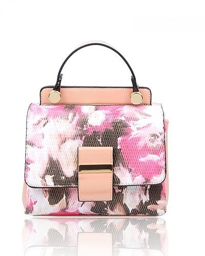7e28ad53d8c9 LeahWard® Ladies Fashion Designer Floral Cross Body Handbags Women s Nice  Cute Bags 136 (FLOWER