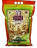 India Gate Parboiled Basmati Rice Bag, Golden Sella, 10 pounds