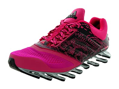 quality design 0683c 3a054 adidas Women s Springblade Drive 2 Bold Pink Silver Metallic Black Running  Shoe 8 Women