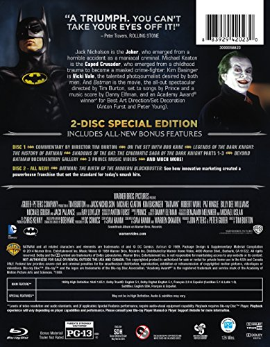Batman 25th Anniversary (BD) [Blu-ray] at Gotham City Store