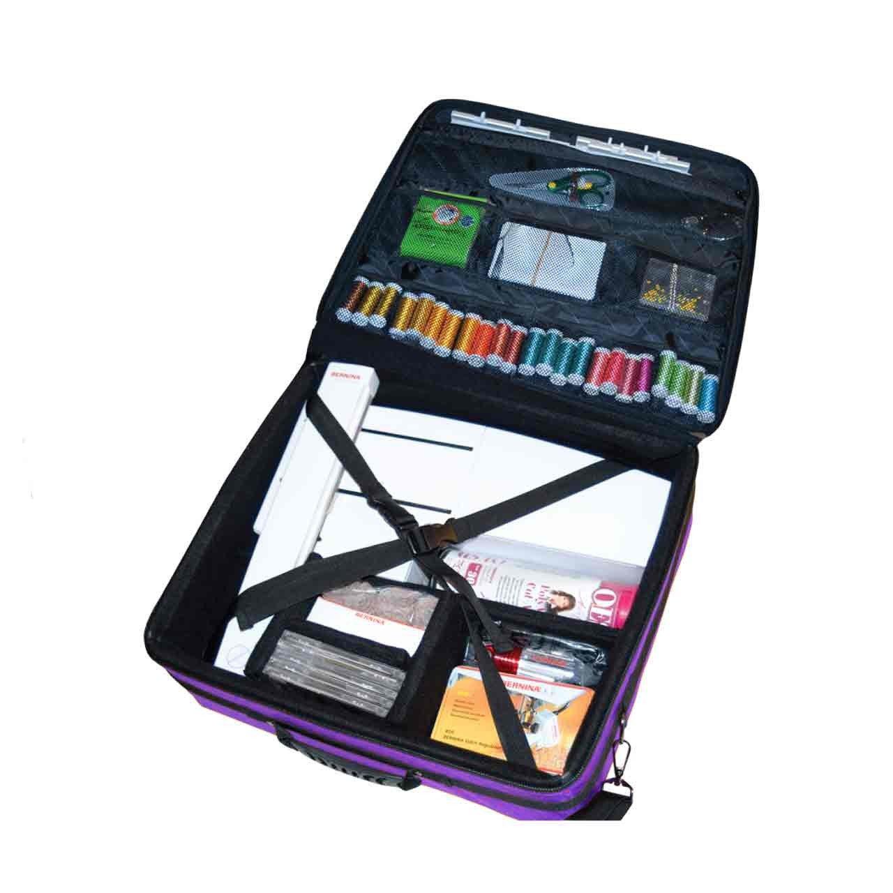 Tutto EPB 19'' Embroidery Project Bag, Purple by Tutto