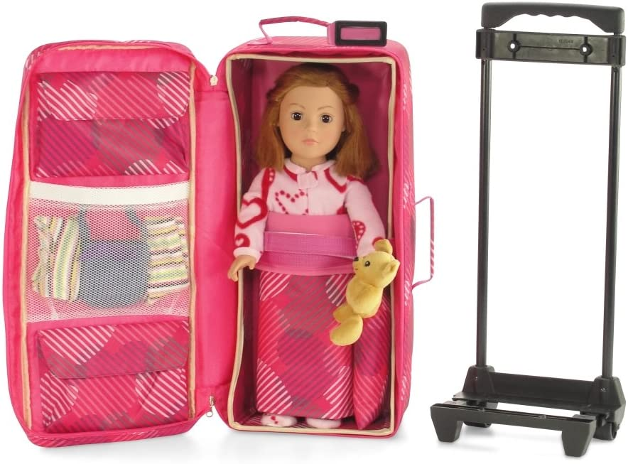 """American Girl 18/"""" Doll TRAVEL ACCESSORIES CAMERA with Strap 1.5/"""" long  NEW"""