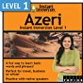 Instant Immersion Level 1 - Azeri