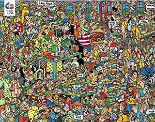 product image for Jan Van Haasteren Comic Crowds Collection Book Fair Puzzle - 750Piece