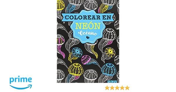 Colorear En Neon (Colorear en neón): Amazon.es: Vv.Aa.: Libros