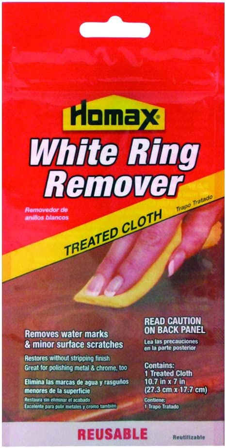 Homax Group Not Available 2236 Furniture White Ring Remover Cloth, 7in. x 11in