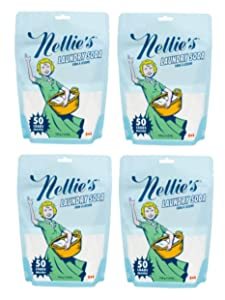 Nellie's Laundry Soda, 50 Load Bag (Pack of 4)