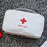 Forfar Empty Portable First Aid Kit Pouch Home Office Medical Emergency Bag Travel Rescue Case