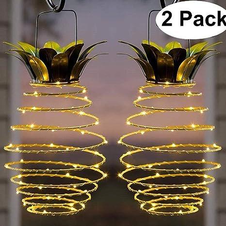 Luci Da Esterno Solari.Allomn Lampada Solare Lampada Da Giardino Solare Per La Decorazione Domestica Lanterna Solare Impermeabile Novita Lampade Ananas Da Giardino Luci Da