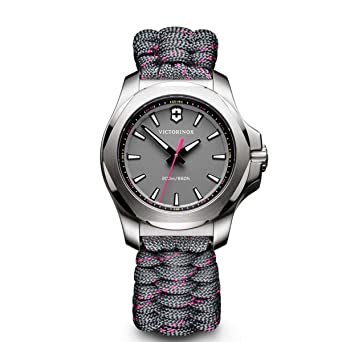Victorinox I.N.O.X. V Grey Dial Ladies Watch 241771