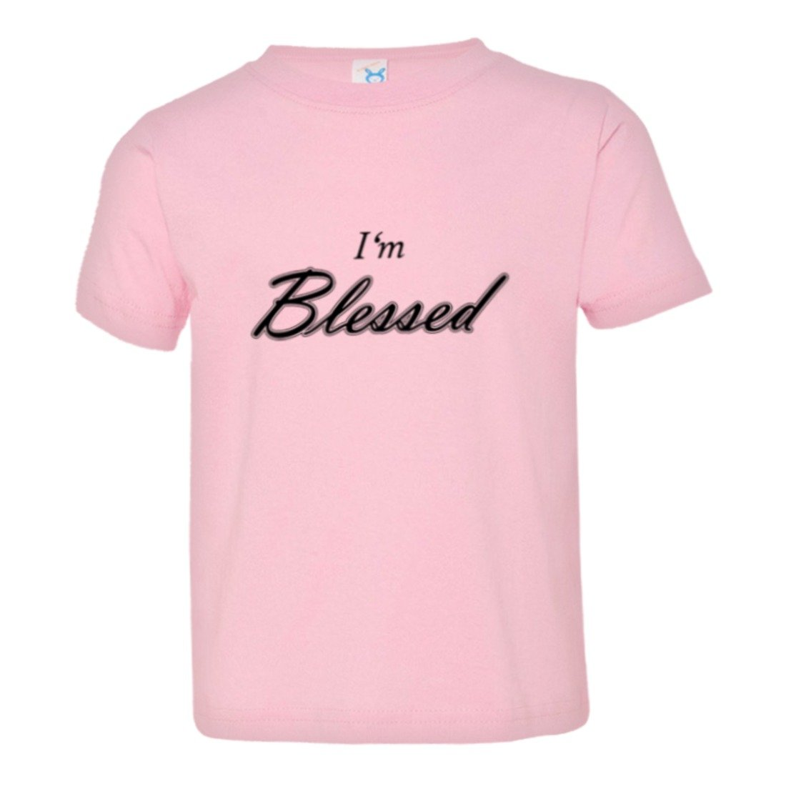 Toddler I Am Blessed by Family God Jesus Gift HQ Tee Shirt