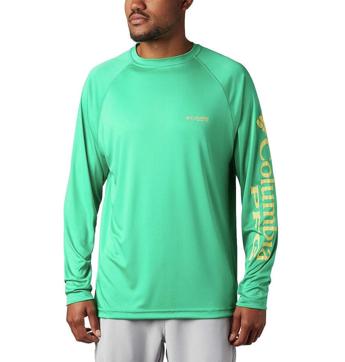 Sun Protection Columbia Men/'s PFG Terminal Tackle Long Sleeve Shirt