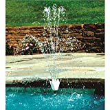Hydrotools Model 8575 Swimming Pool Wall Flower Fountain Set