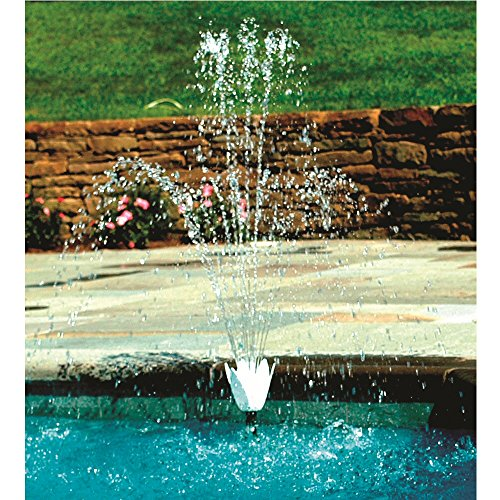Hydrotools Model 8575 Swimming Pool Wall Flower Fountain Set by Hydrotools