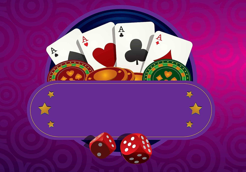 Amazon.com: FHZON Texas Holdem Póquer Fondo de Fotografía ...