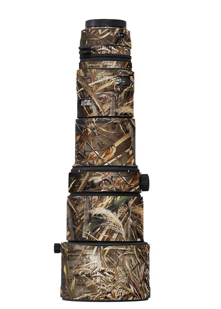 LensCoat Cover Camouflage Neoprene Caqmera Tripod Leg Cover Protection Sigma 500 F4.5, Realtree Max5 (lcs50045m5)