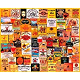 White Mountain Puzzles Whiskies - 1000 Piece Jigsaw Puzzle