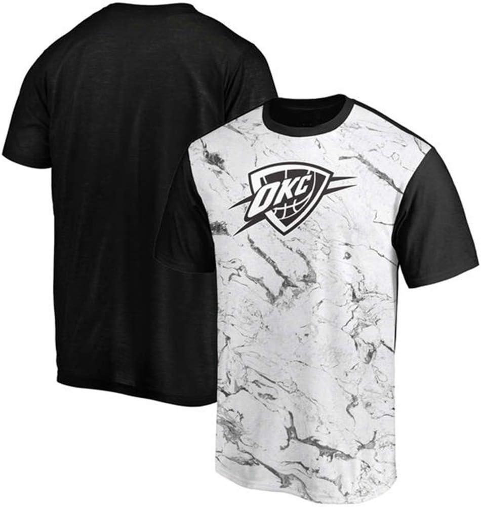 QAZWSX Equipo De La NBA Oklahoma City Thunder, Camiseta De ...