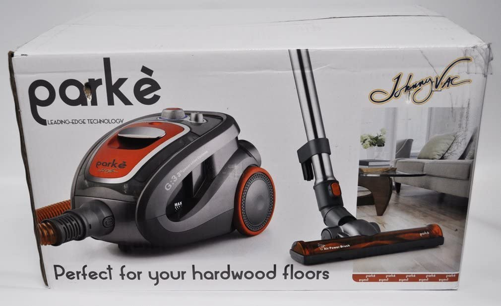 Jonny Vac Parke Hard Floor Canister Vacuum Cleaner