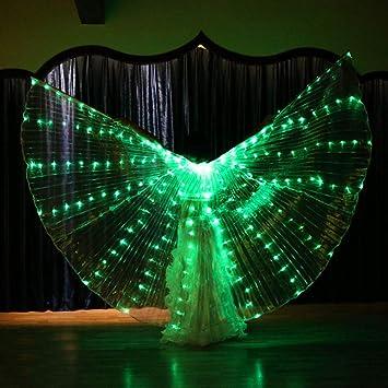 WSJS Resplandor Luminoso LED alas Ligeras Accesorios de ...